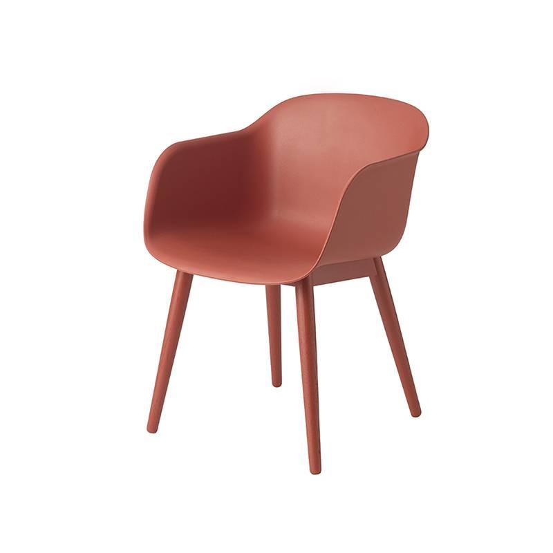 Muuto Fiber Chair pieds en bois