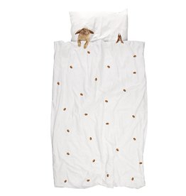 SNURK beddengoed Housse de couette Furry Friends COTON