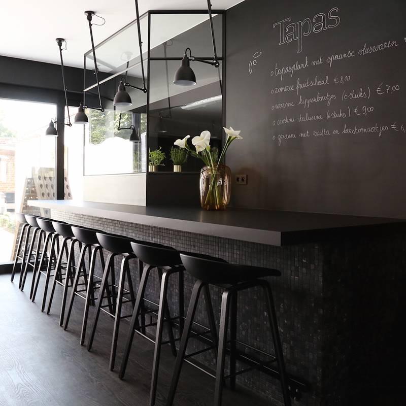 Tabouret De Bar About A Stool Aas32 Noir Hay