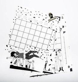 helen b Kalender 2018