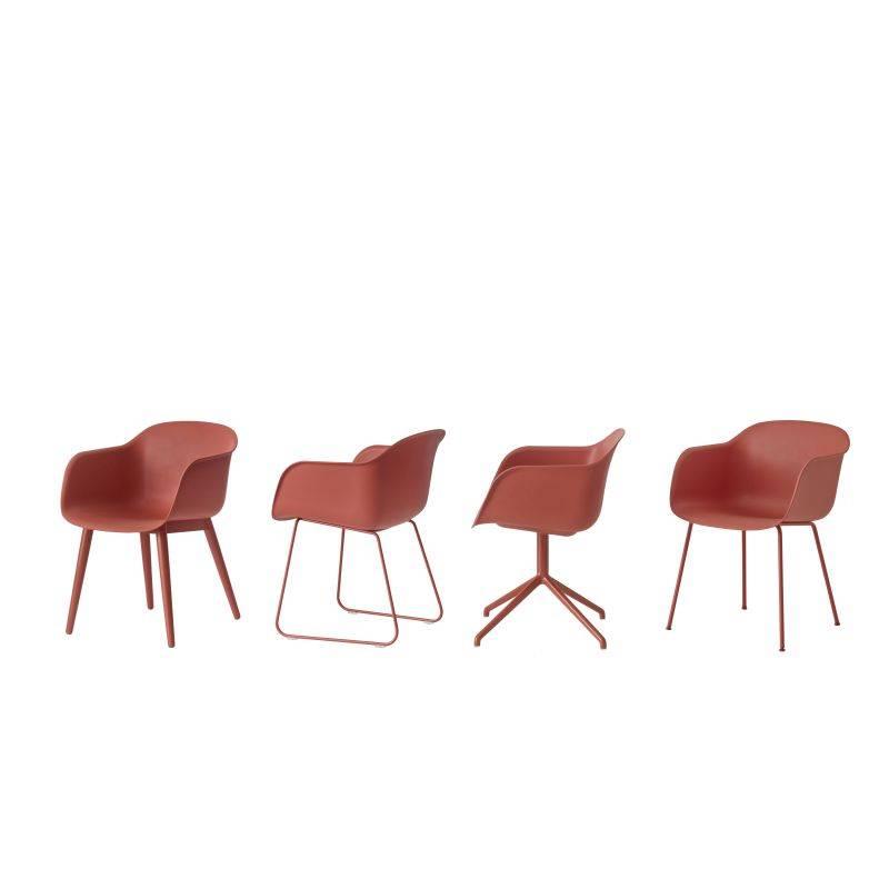 Muuto Fiber Chair slede onderstel