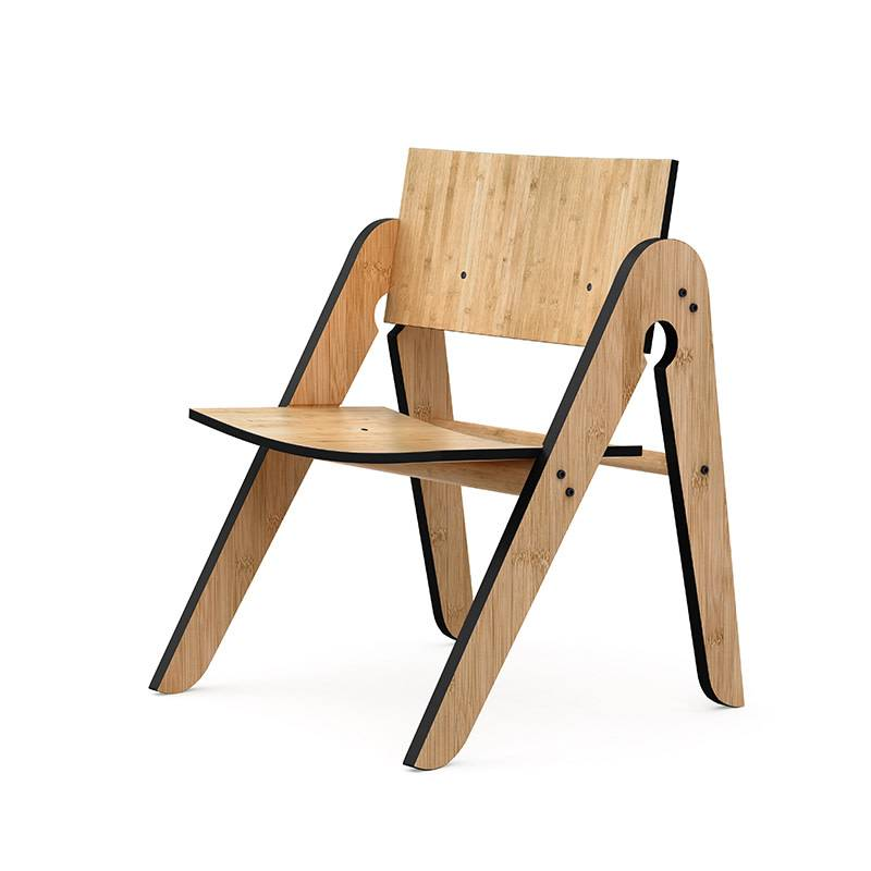 We Do Wood Lilly's Chair chaise enfant