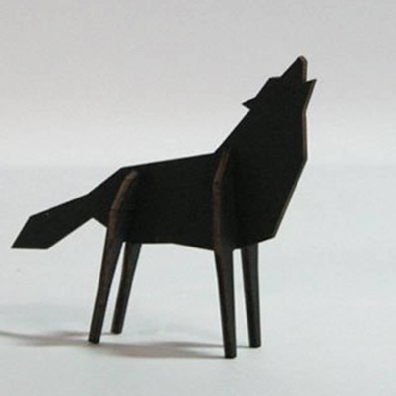 Atelier Pierre noRdic Wolf zwart