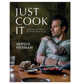 Other brands Livre de cuisine Just cook it - Sergio Herman