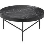 Fermliving Marmeren salontafel zwart