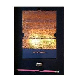 Papette Hot writings hot copper - SLIJPER ONTBREEKT