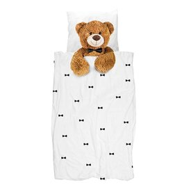 SNURK beddengoed Teddy dekbedovertrek FLANEL
