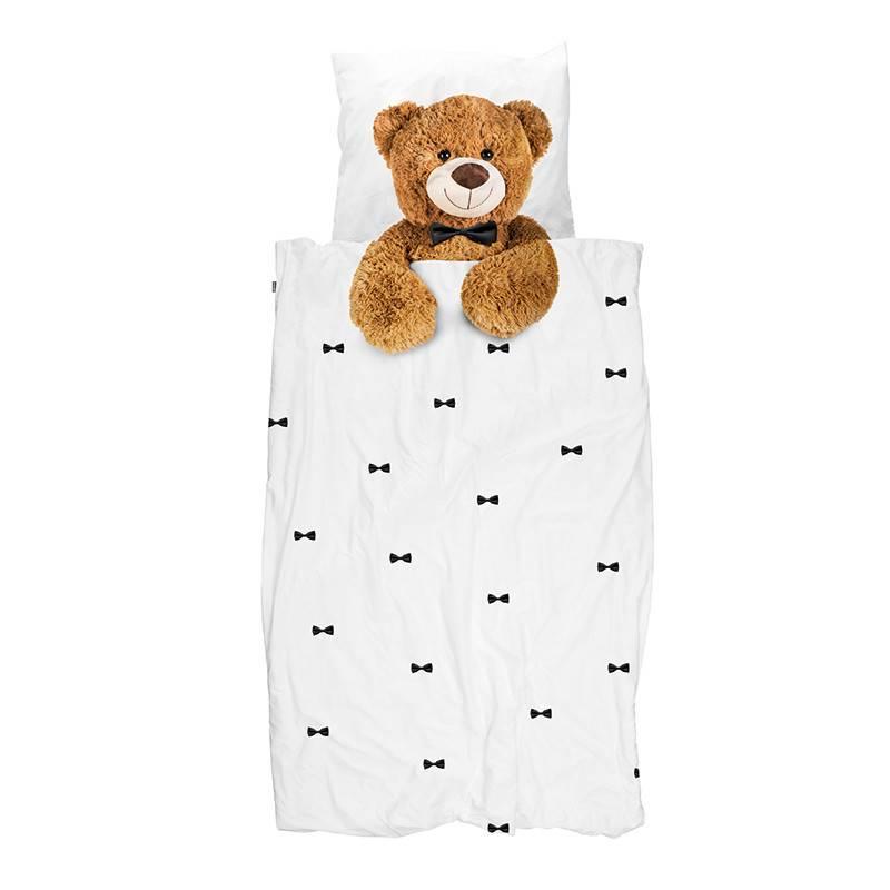 SNURK beddengoed Teddy dekbedovertrek FLANEL