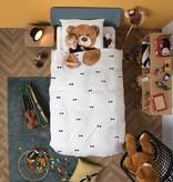 SNURK beddengoed FLANEL Teddy dekbedovertrek
