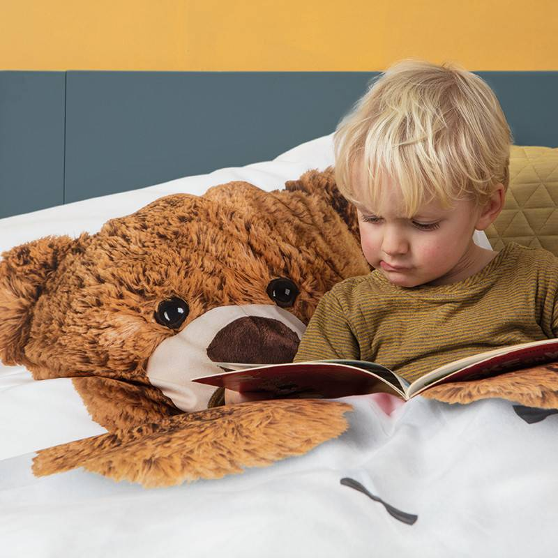 SNURK beddengoed FLANEL Teddy housse de couette