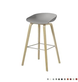 HAY Tabouret de bar 'About A Stool' AAS32 couleur-chêne
