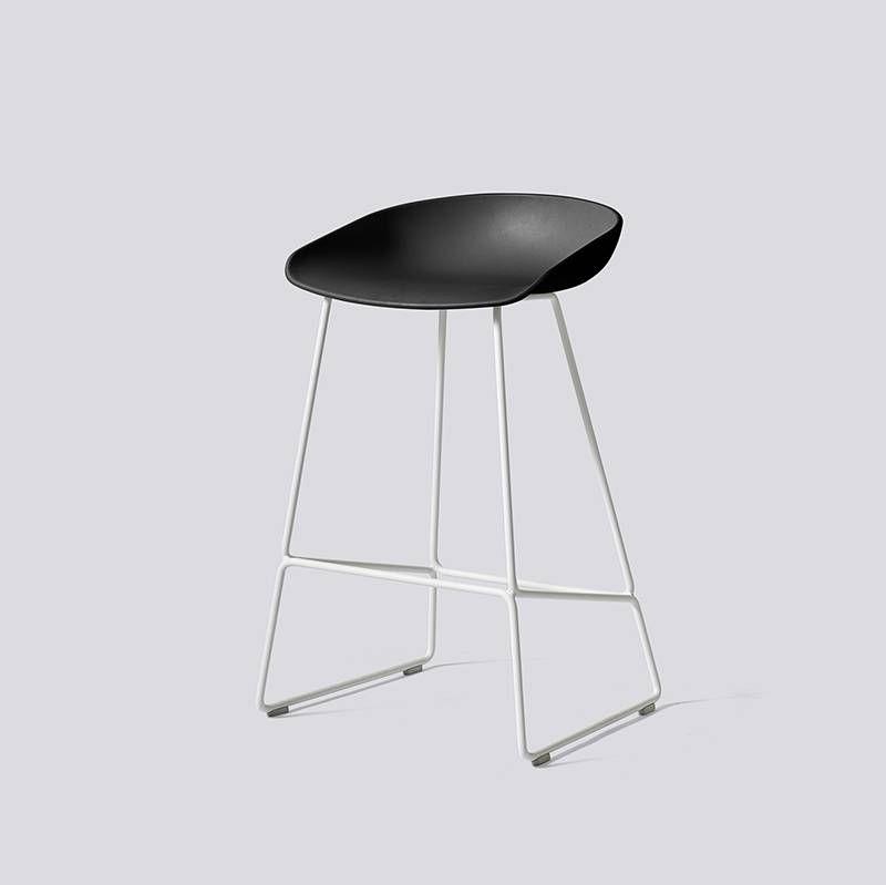 HAY Tabouret 'About A Stool' AAS38 avec frame blanc