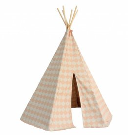 Nobodinoz OUTLET Tipi tent 'Arizona' Pink Scales