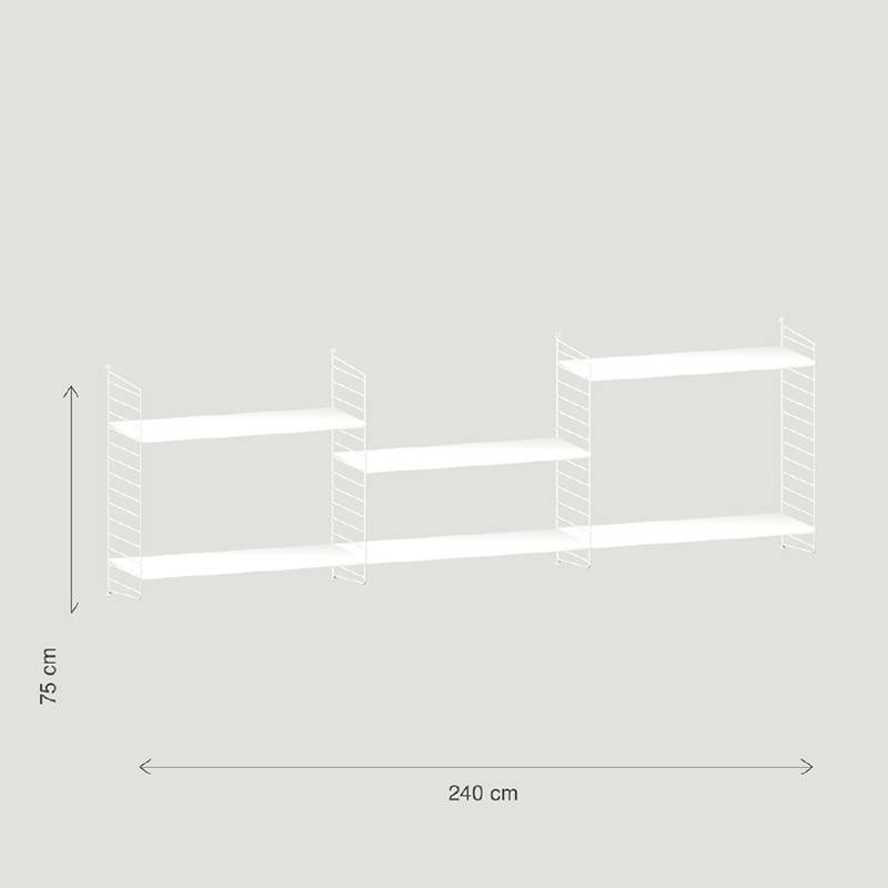 String String wandconfiguratie 17