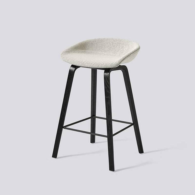Hay barkruk about a stool aas33 gestoffeerd gratis for Hay barstoelen