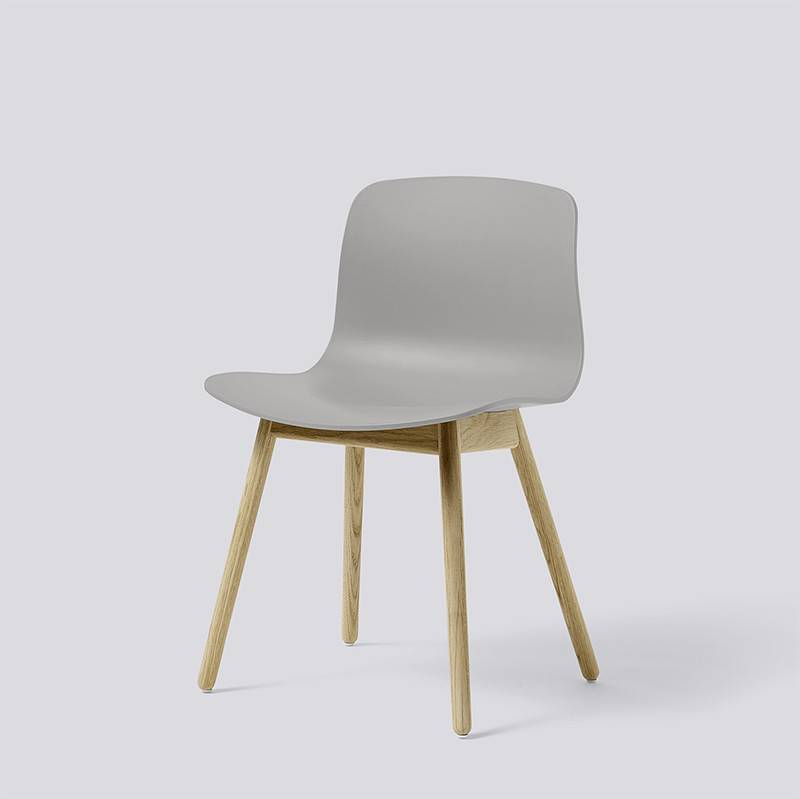 HAY About A Chair AAC12 grijs - mat gelakt eikenhout