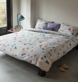 SNURK beddengoed Housse de couette Knitted flower