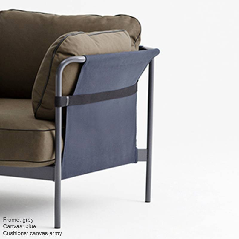 HAY CAN - Fauteuil Canvas 3p
