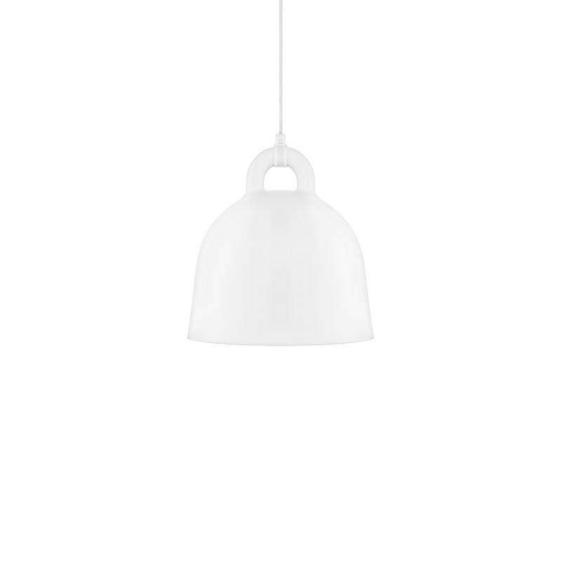 Normann Copenhagen Bell lampe suspendue blanc S