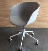 HAY About A Chair AAC52 blanc- front upholstery