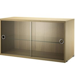 String Display cabinet 78x30xH42cm