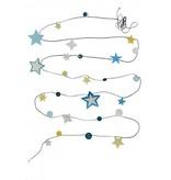 Engel. Guirlande Stars glow in the dark