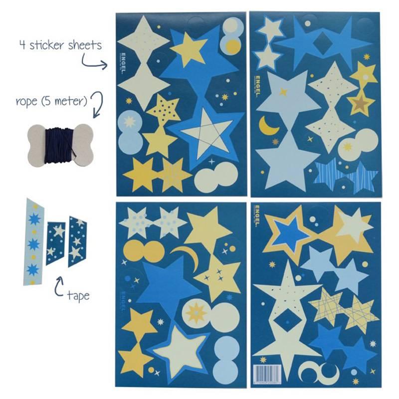 Engel. Slinger Stars glow in the dark