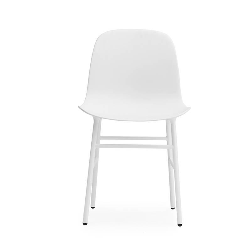 Normann Copenhagen Form Chair staal wit