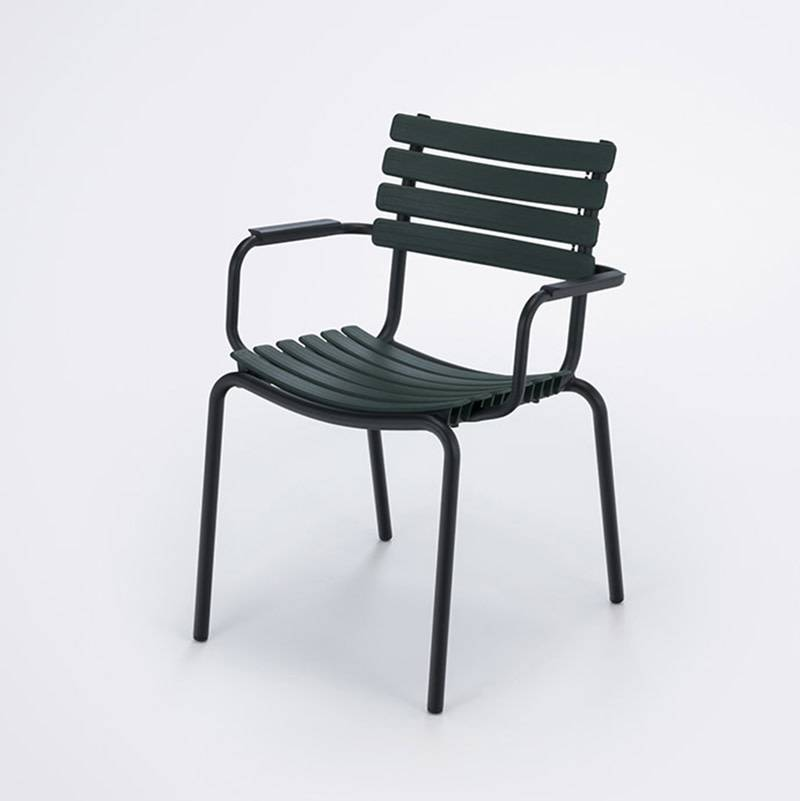 Houe Clips Dining Chair with alu armrests