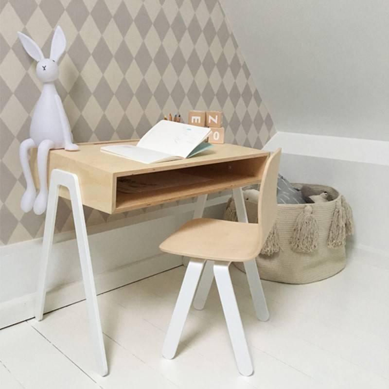 In2Wood Set bureau d'enfant & chaise +6 ans