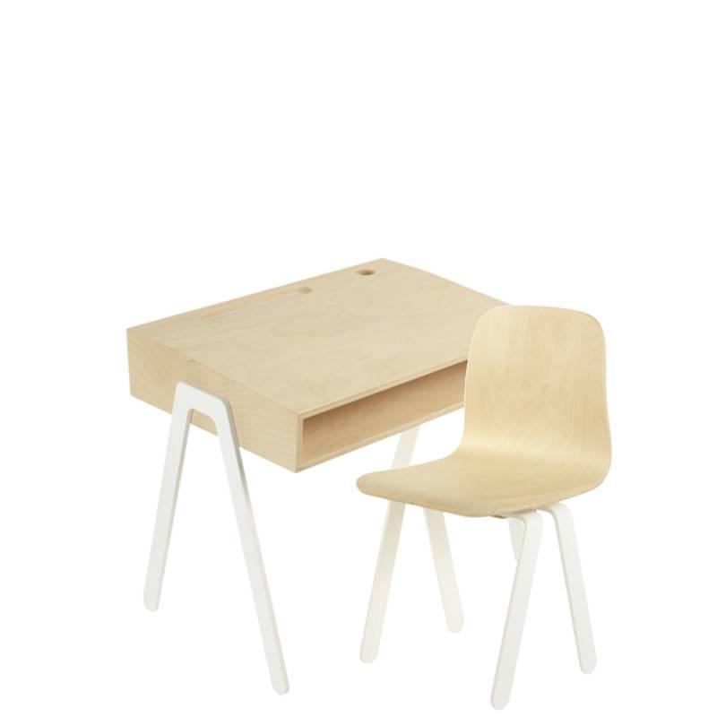 In2Wood Set kinderbureau & stoel