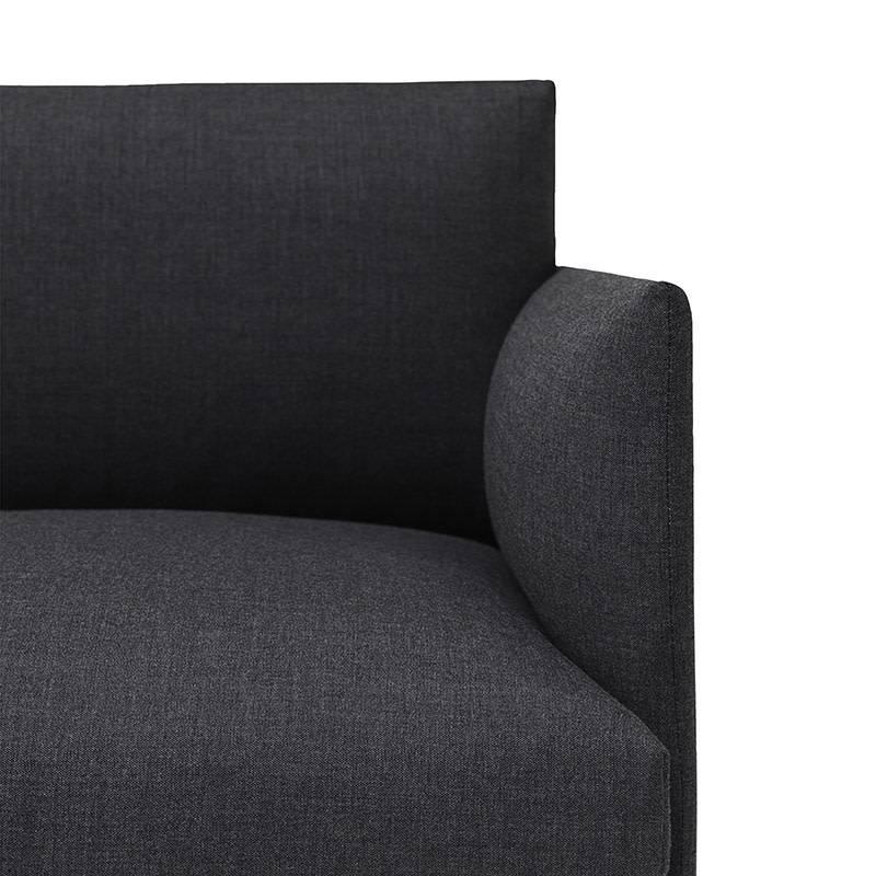 Muuto Outline Canapé - Chaise Longue gauche