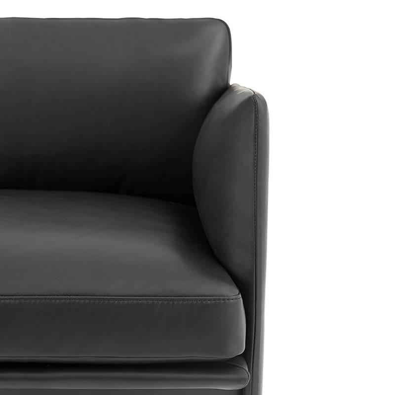 Muuto Outline Sofa - Chaise Longue links