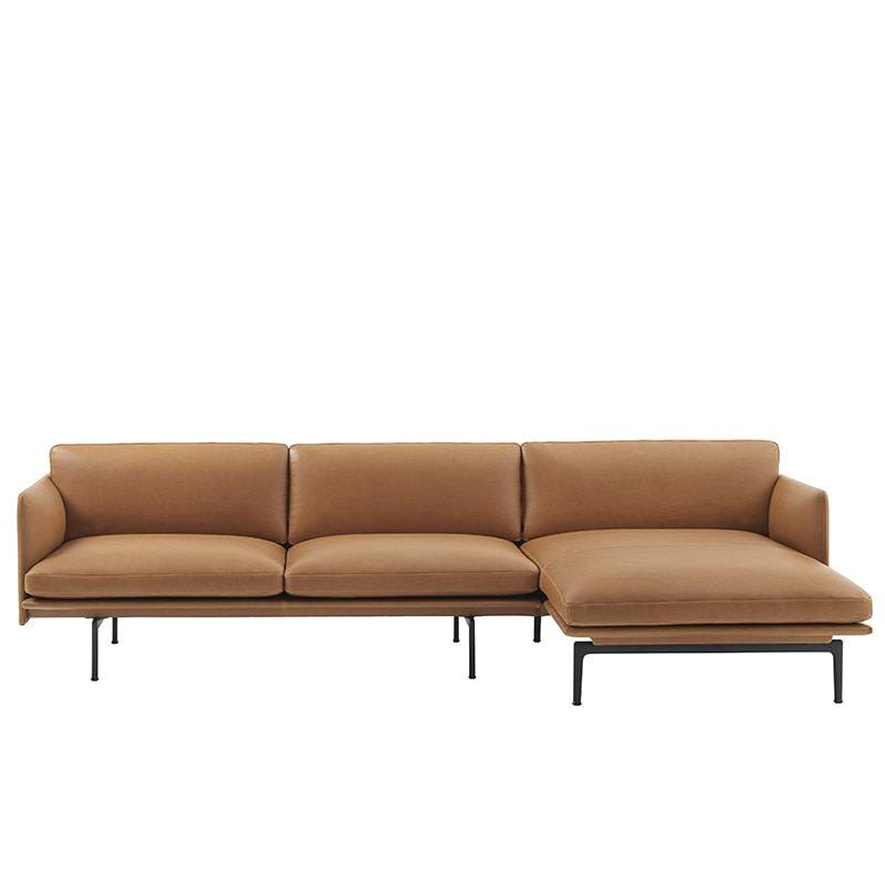 Muuto Outline Sofa - Chaise Longue rechts