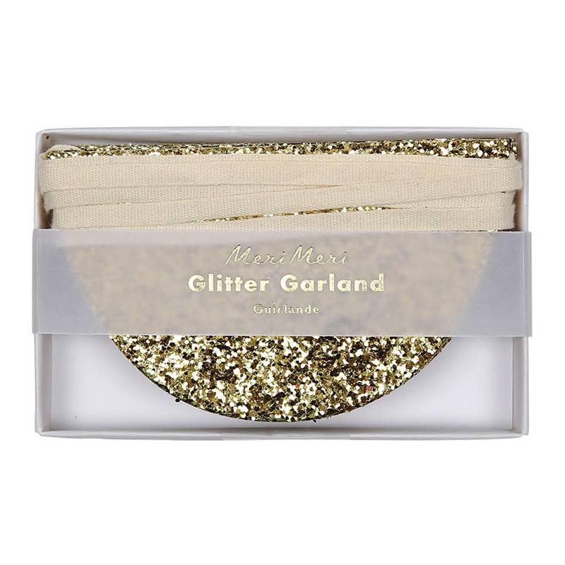 Meri Meri Slinger glitter goud mini