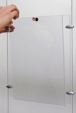 "Kunst&Dünger ""grow together"" Flyquick transparent vertical"