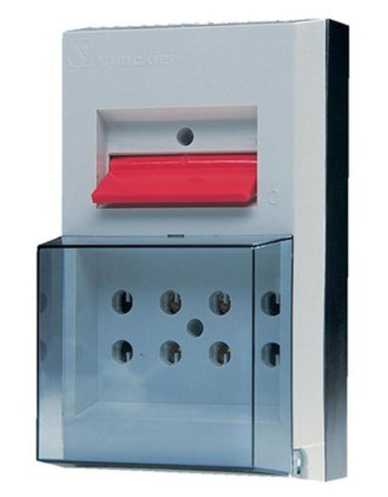 Switch box with handle 2P 16A