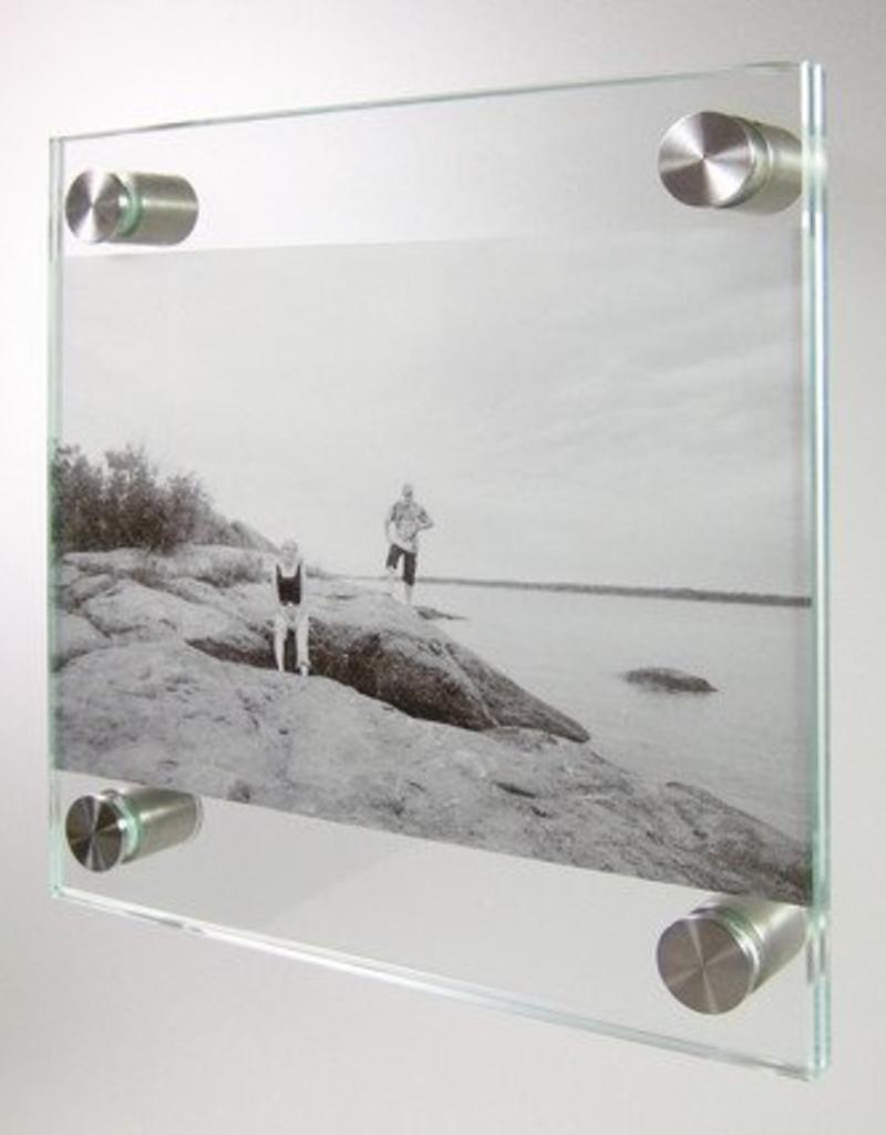 Fisso Wall Set Infoglass & Steel 15