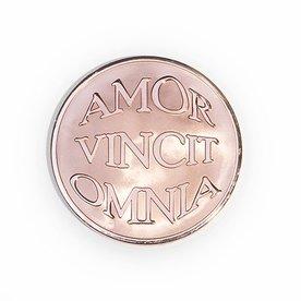 Mi Moneda Mi-moneda munt large avo-mio rosé gold