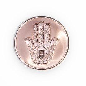 Mi Moneda Mi-moneda munt large man-hand rosé gold