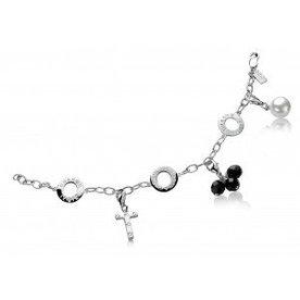 Zinzi Zinzi zilveren collier voor charms