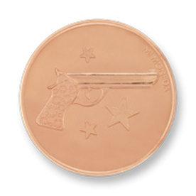 Mi Moneda Mi-Moneda coin Aim high & Pistol small