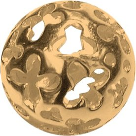 Melano Melano Colours Silver ball Gold Plated