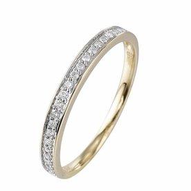 Pas Diamonds Pas Diamonds aanschuifring geel goud