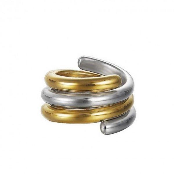 Esprit Esprit Collection Ring Swiveled Bicolor ESSE90969A180