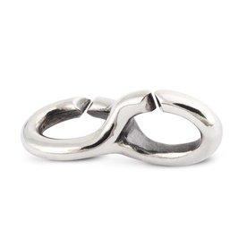 Trollbeads Dubbele zilveren link 2015102001