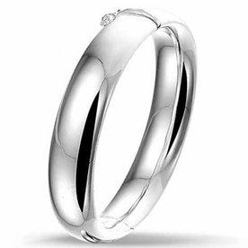 Zilveren slavenband 10.01387