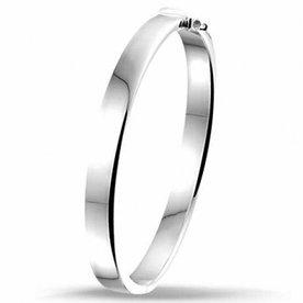 Zilveren slavenband 10.01393
