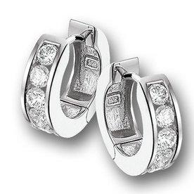 Zilveren creolen 13.04810