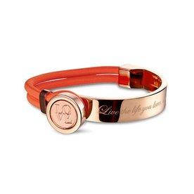 Mi Moneda Mi-Moneda armband Verano Peach